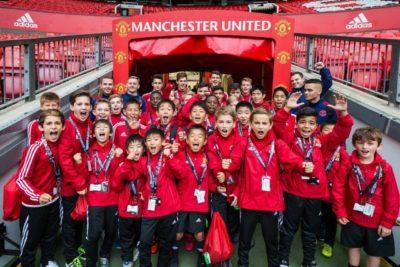 Детский лагерь Manchester United