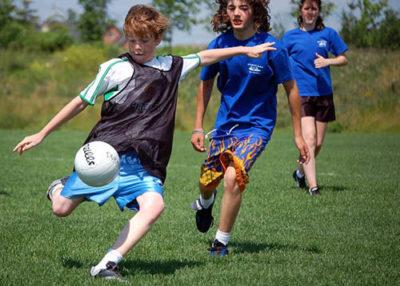 детский лагерь футбол