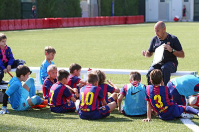 детский футбольный лагерь испания