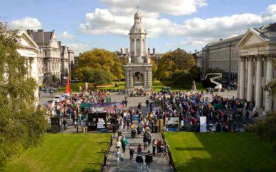 Библиотека Trinity Cillege Ireland