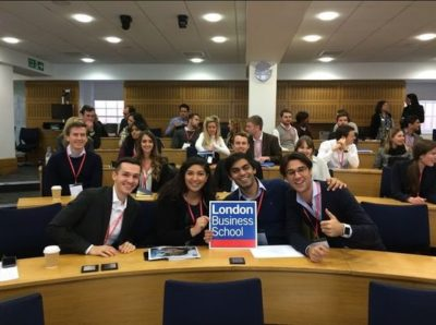Студенты London Business School